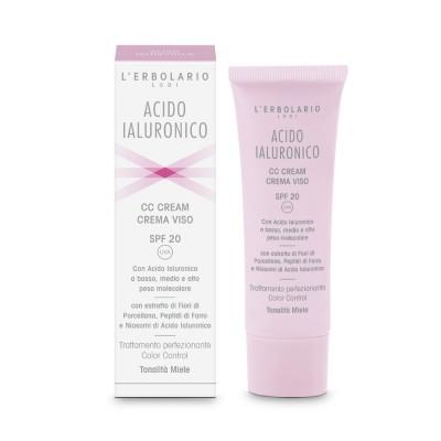 Hyaluronic Acid CC Face Cream SPF20 Honey