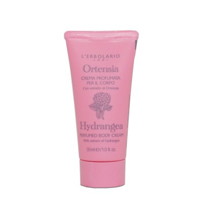 Hydrangea Perfumed Body Cream Travel-size