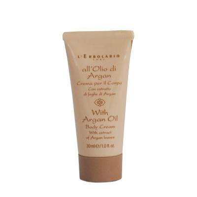 With Argan Oil - Body Cream - travel-size