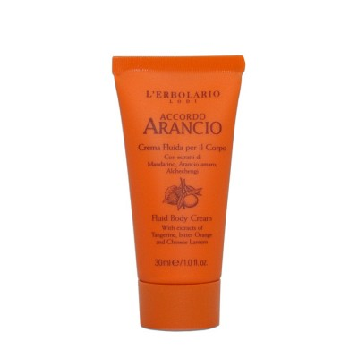 Accordo Arancio - Fluid Body Cream - travel size - 30 ml