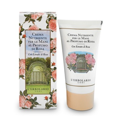 Rose Perfumed Nourishing Hand Cream