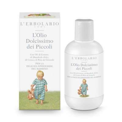 Il Giardino dei Piccoli - The Baby Garden - Very Gentle Baby Oil - 200 ml