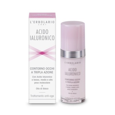 Hyaluronic Acid Triple Action Eye Contour Cream