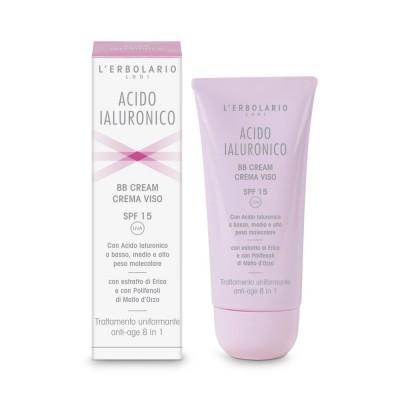 Hyaluronic Acid - BB Cream Face Cream - 15 - 50 ml