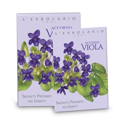 Accordo Viola Perfumed Sachets for Drawers