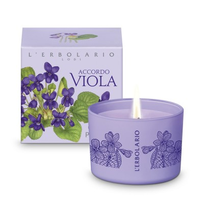 Accordo Viola Perfumed Candle