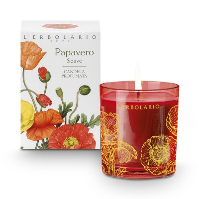 Papavero Soave - Sweet Poppy - Sweet Poppy Perfumed Candle