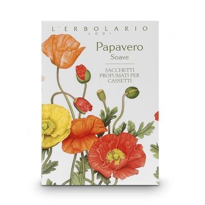 Sweet Poppy Perfumed Sachet for Drawers