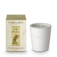 Tè Bianco - White Tea - White Tea Perfumed Candle