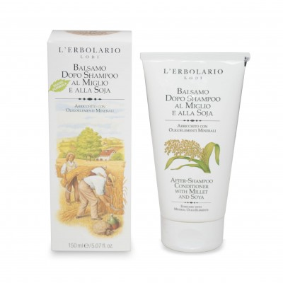 After-Shampoo Conditioner with Millet and Soy