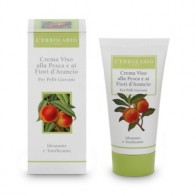 Face Cream with Peach and Orange Blossom for Young Skin