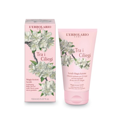 Cherry Blossom - Tra i Ciliegi - MagicAction Exfoliating Body Oil-Gel