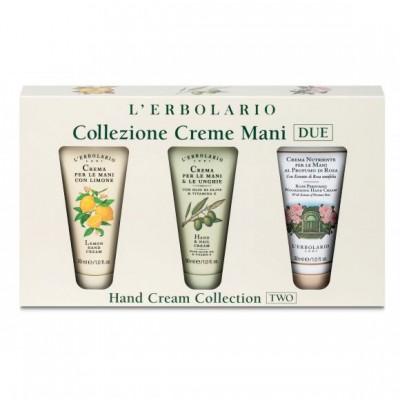 Hand Cream Trio - Lemon, Olive & Rose