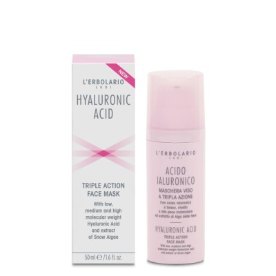 Triple Action Face Mask with Hyaluronic Acid