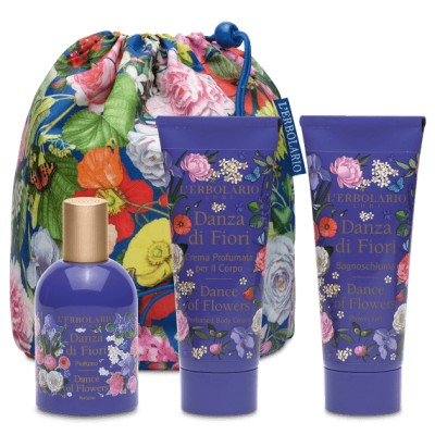Dance of Flowers Beauty Bag Trio