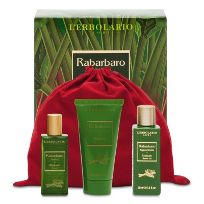 Rhubarb Beauty Set