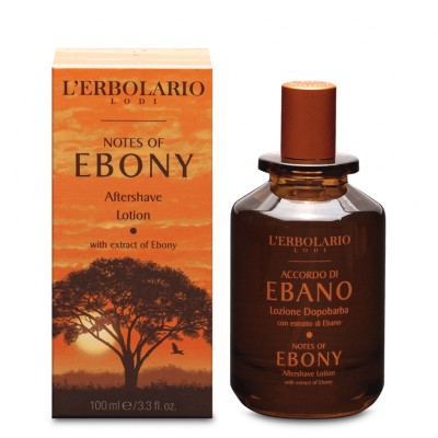 Notes of Ebony Aftershave Lotion