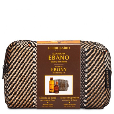 Notes of Ebony Beard Beauty Bag