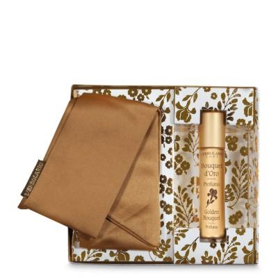 Golden Bouquet Perfume Mignon with Gold Bracelet