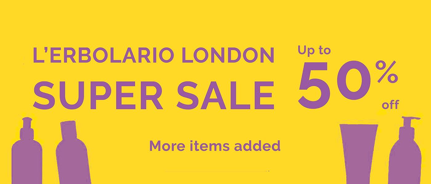 L'Erbolario UK - Summer Sale 2019